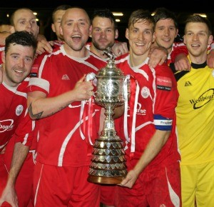 Kent Senior Cup Winners 2011-12 v Dartford - Princes Park Stadium, Dartford FC