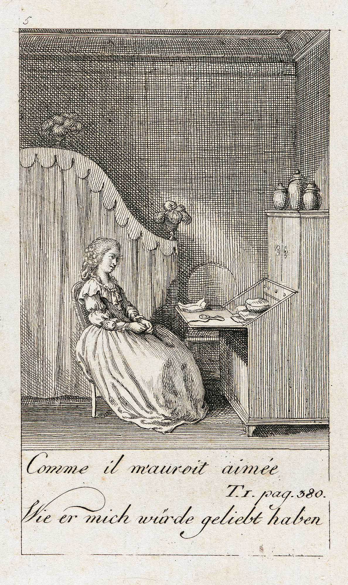 Иллюстрация к 'Каролина Lichtfield' (5)