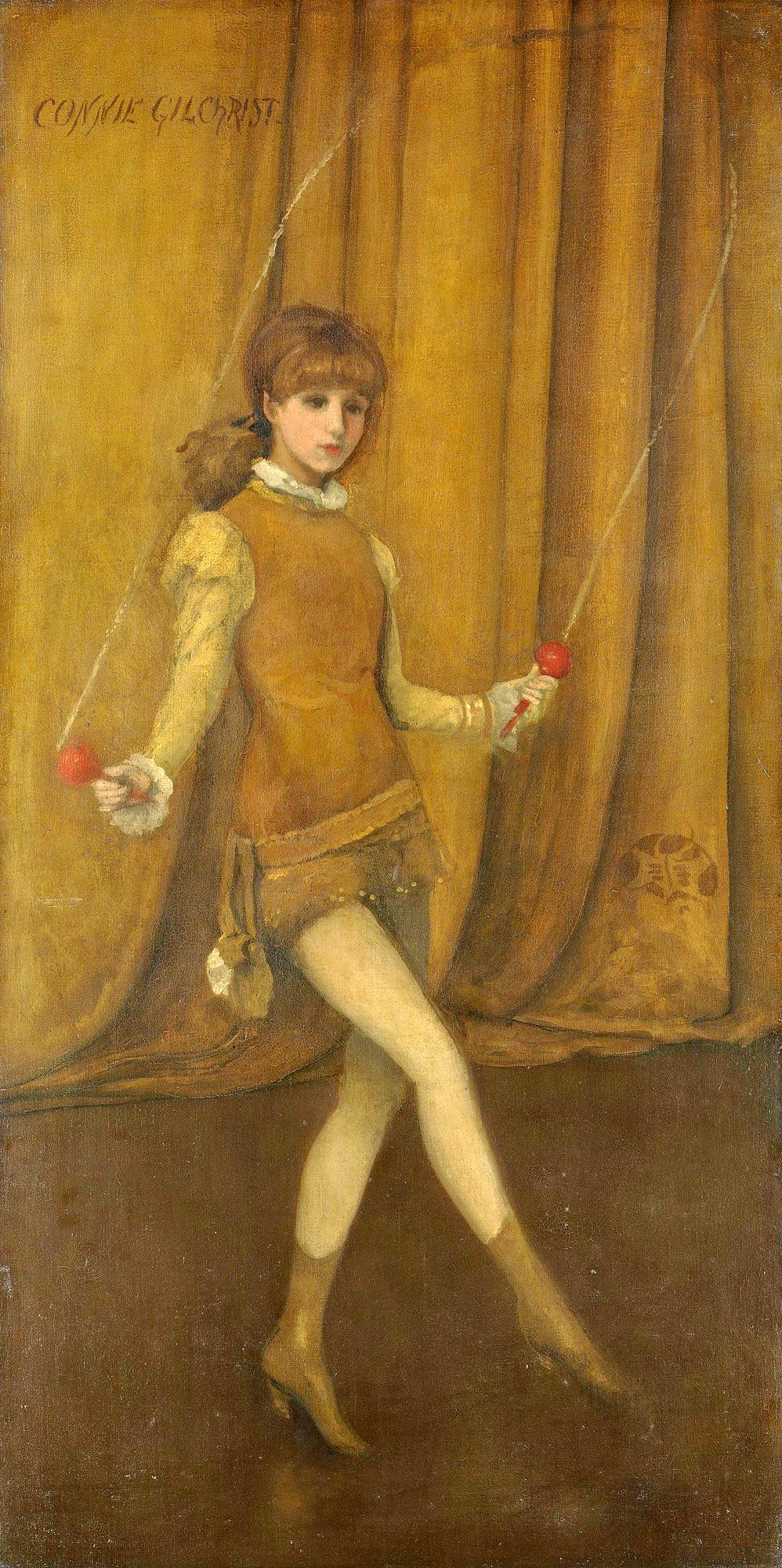 Гармония в желтом и золотом: Золотая девочка—Конни Гилкрист