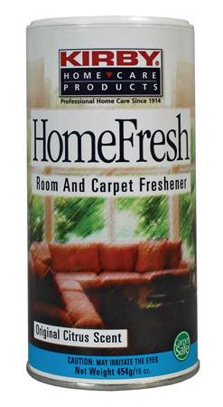 Освежитель ковров -Посыпать перед уборкой на обрабатываемую поверхность, через несколько минут почистить вашей системой Kirby, попадая в мешок (пылесборник) способствует фильтрации и ароматизации воздуха.