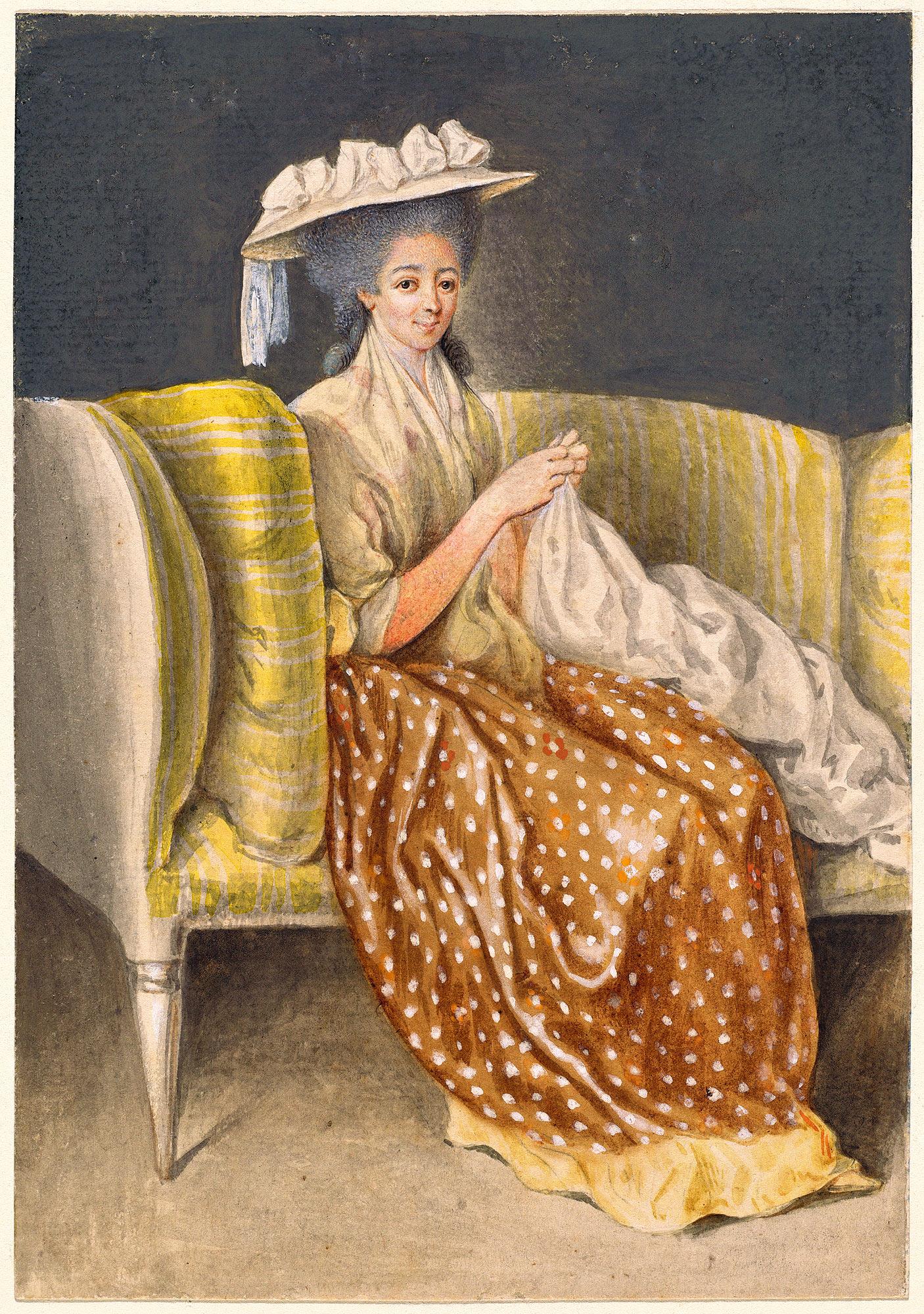 Портрет Леди шитья