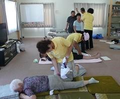 東日本大震災被災者へのボランティア治療