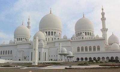 シエイクザイードモスク