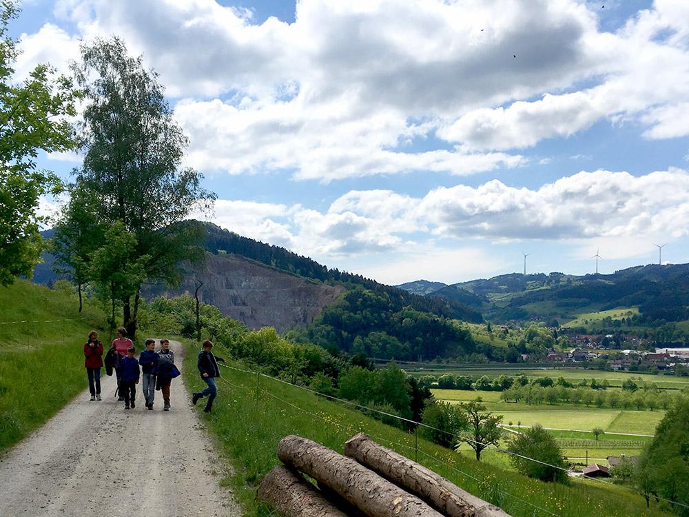 Wanderthemenwege gibt es in vielen Gemeinden der Umgebung