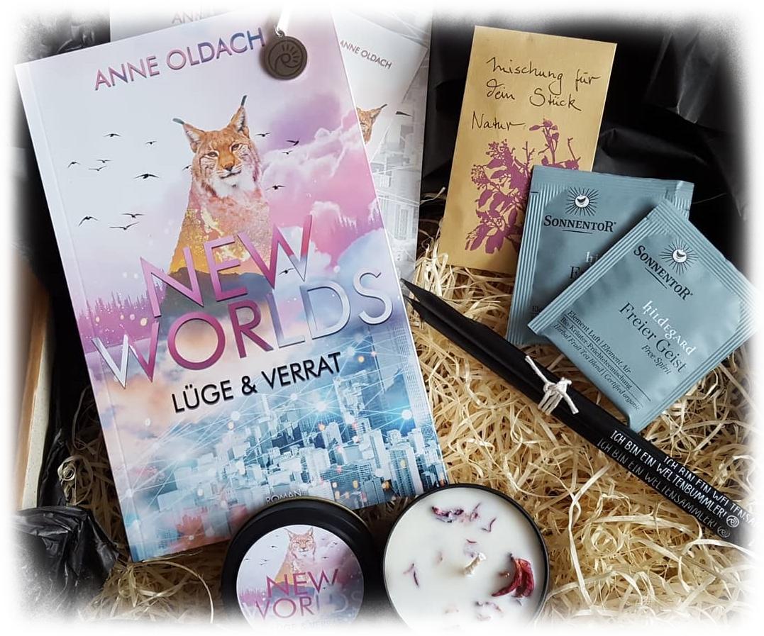 """""""New Worlds - Lüge & Verrat"""" von Anne Oldach"""