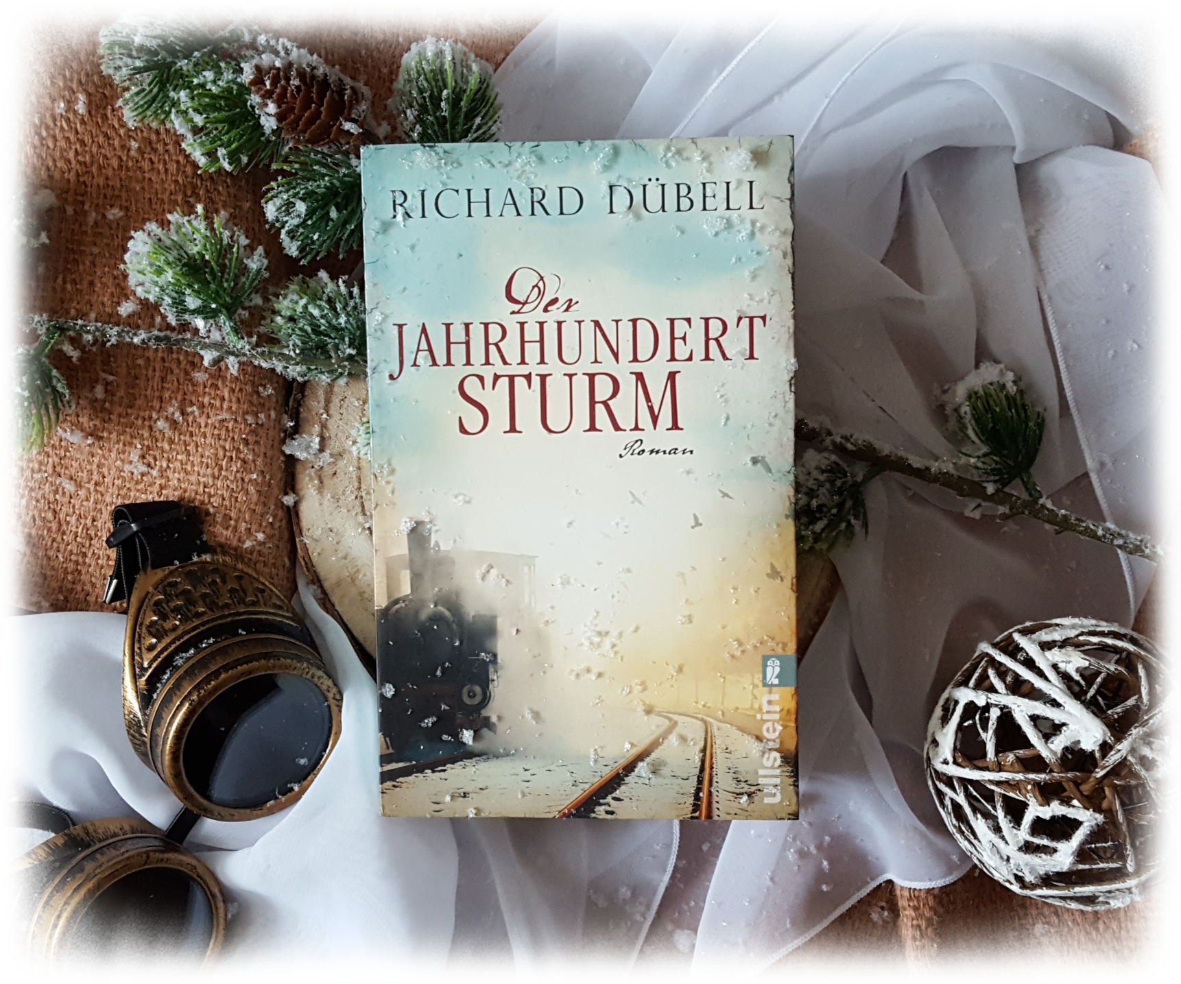 """""""Der Jahrhundertsturm"""" von Richard Dübell"""