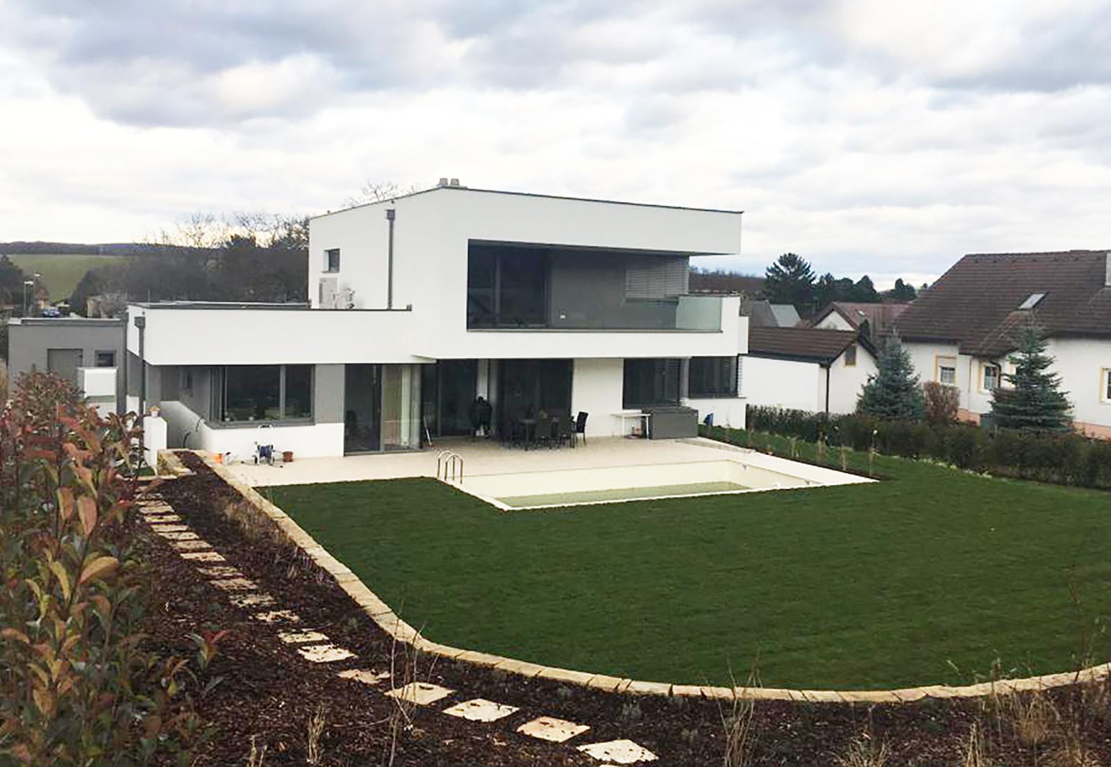 Neubau Einfamilienhaus Steinbrunn