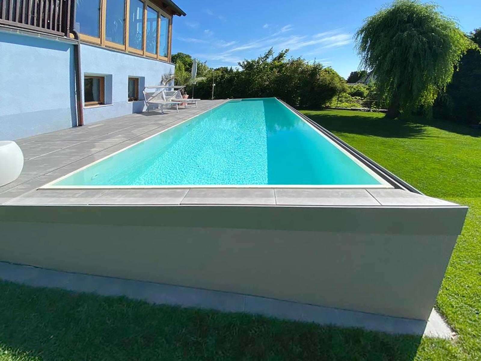 Neubau Pool in Eisenstadt