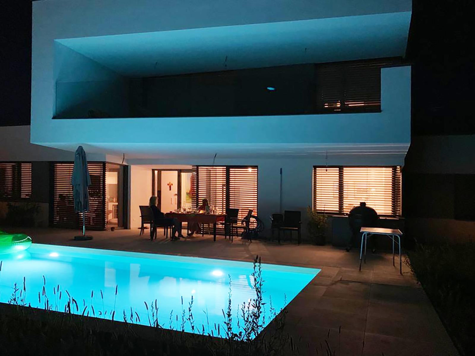 Pool in Steinbrunn