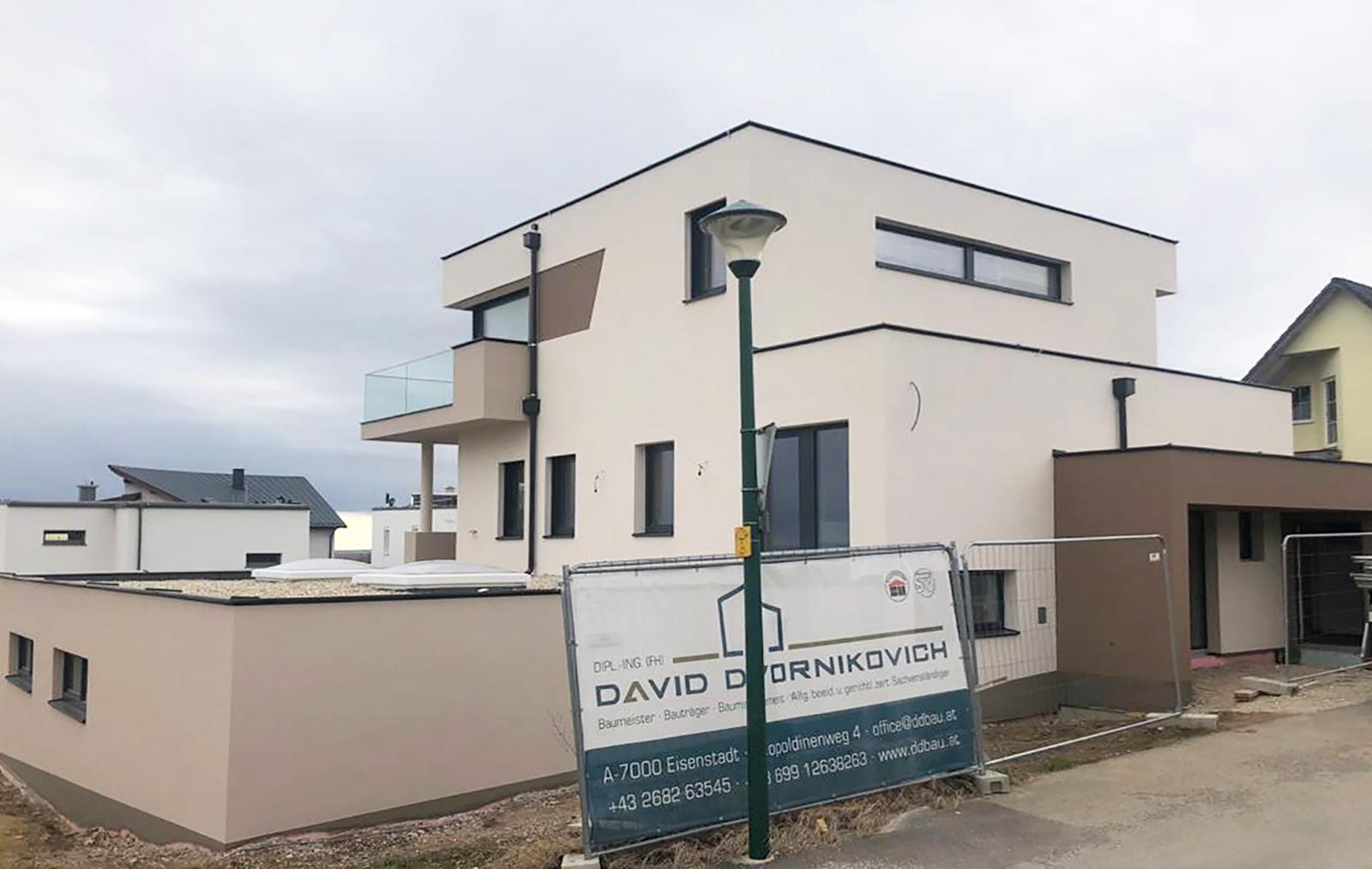 Neubau Einfamilienhaus Purbach