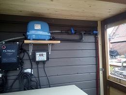 Filtreau UVC Klärer mit Timer anbringen, 80 W Tauch UVC, Sauerstoffpumpe aufbauen, Hi Blow, V 60 Sauerstoffpumpe