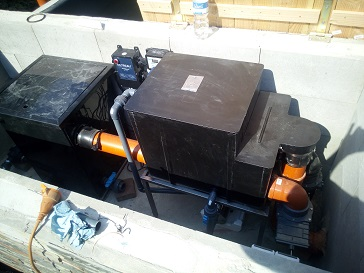 Trommelfilter Biokammer von Tokuna  installieren Trommelfilter Easy Drum günstig kaufen
