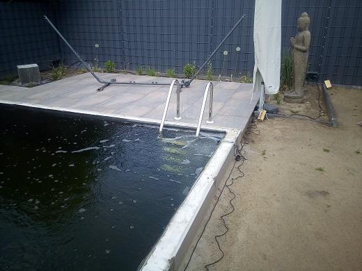 Japan Belüfterring von Tokuna Teichbau für die Teichbelüftung im Koiteich