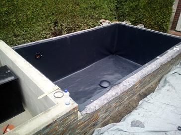 Filterkammer für Teichfilter bauen für Schwerkraft Teich