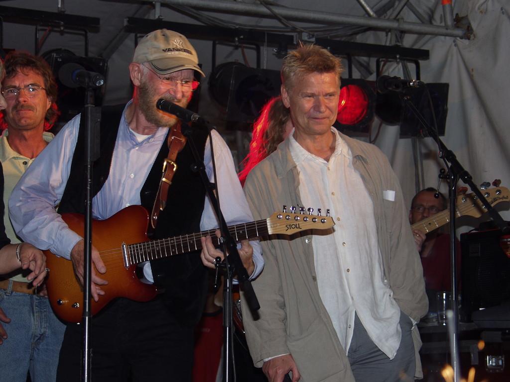 Tony Sheridan und Achim Reichel