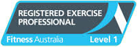 Registered with Fitness Australia as an exercise professional