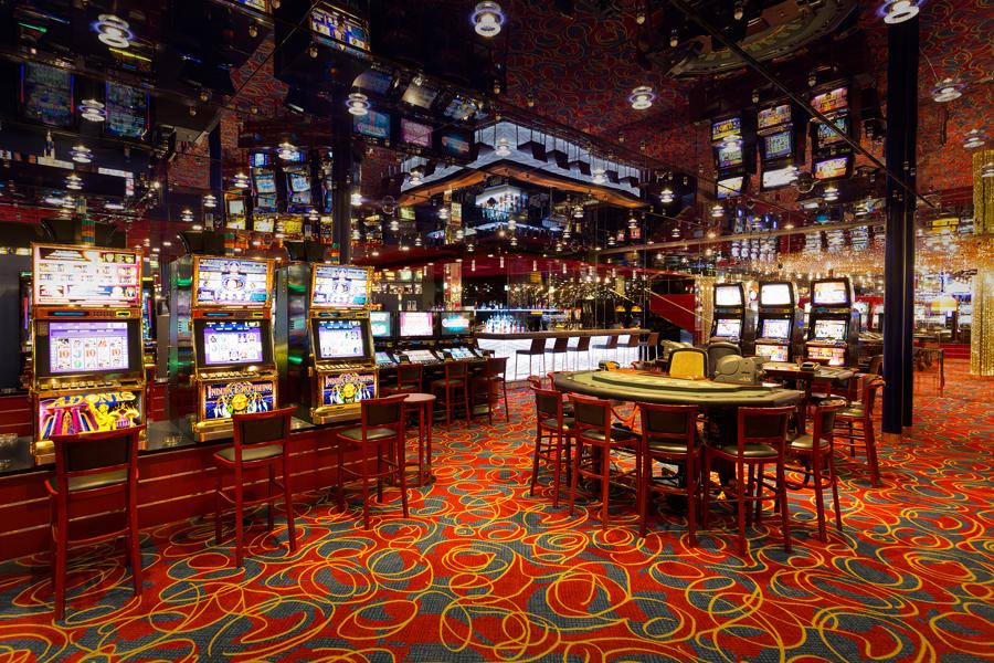 Casino Bregenz, Teppichfliesen