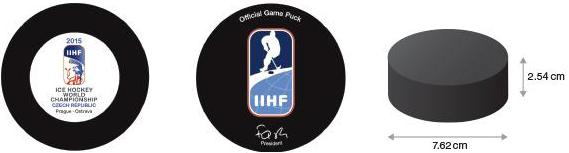 Offizieller Matchpuck Eishockey, History Puck, Grösse Puck, Gewicht Puck