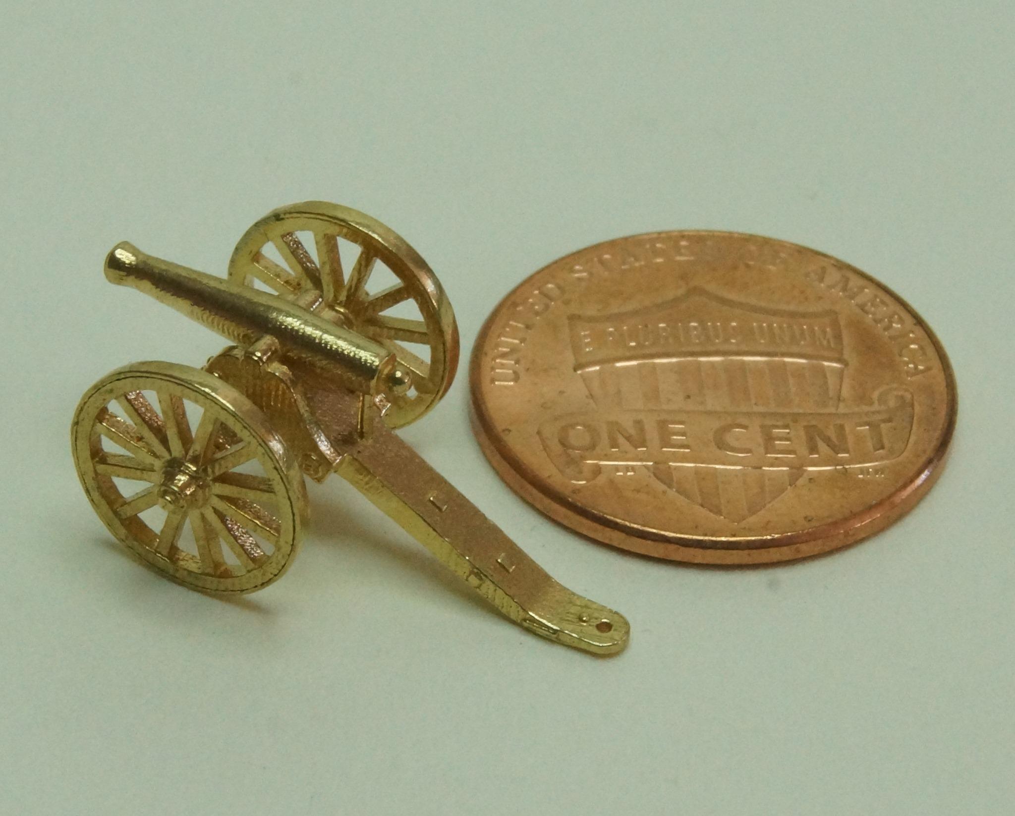Civil War Gun N-Scale