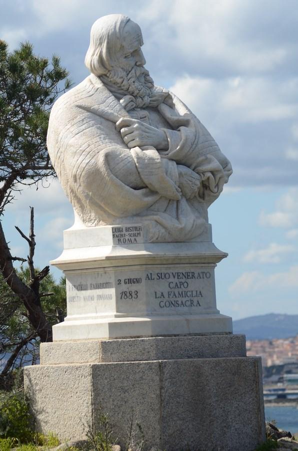 Denkmal Giuseppe Garibaldi auf der Insel Caprera