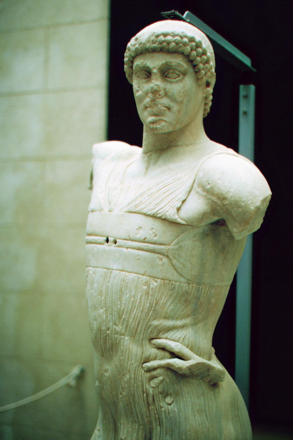 Ephebe (junger Mann) von Mozia