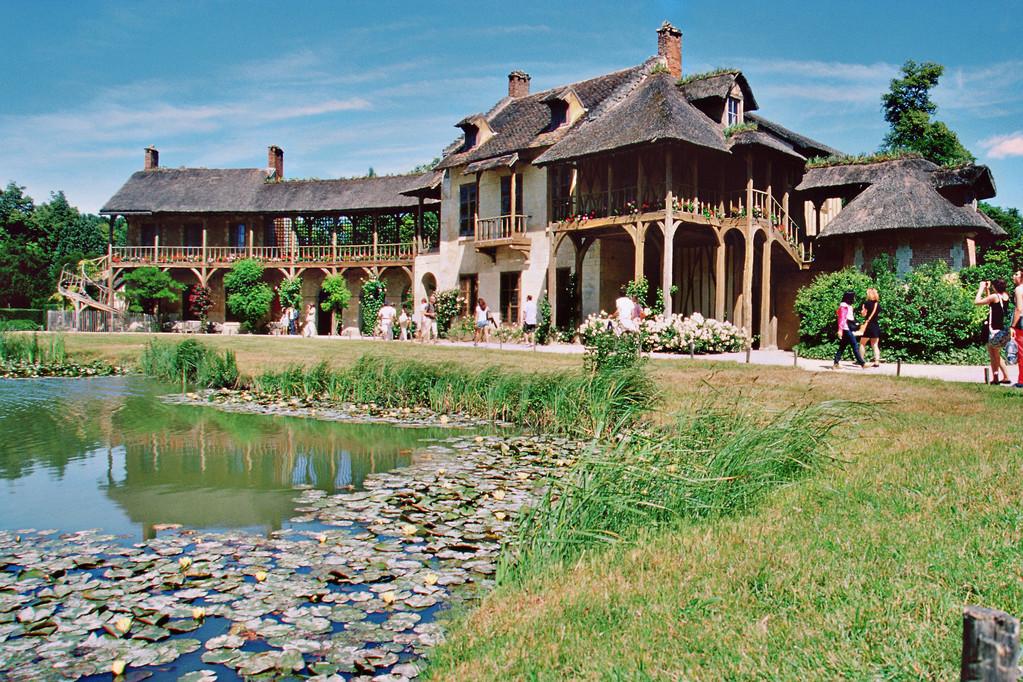 Versailles, Schloßgarten, Weiler der Marie-Antoinette