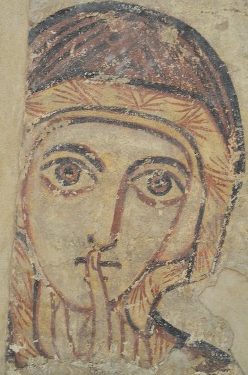 Faras (Sudan), hl. Anna (8. Jahrhundert; Warschau, Nationalmuseum)