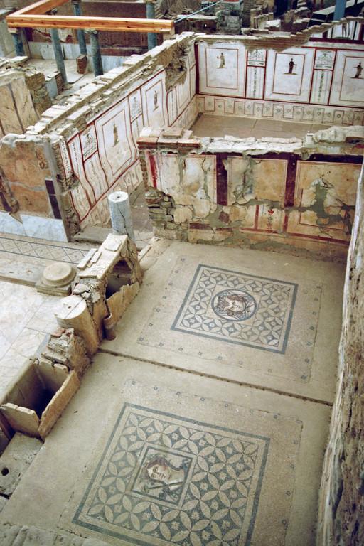 Ephesus, Hanghäuser