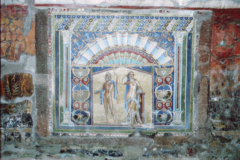Herculaneum, Haus des Neptun und der Amphitrite