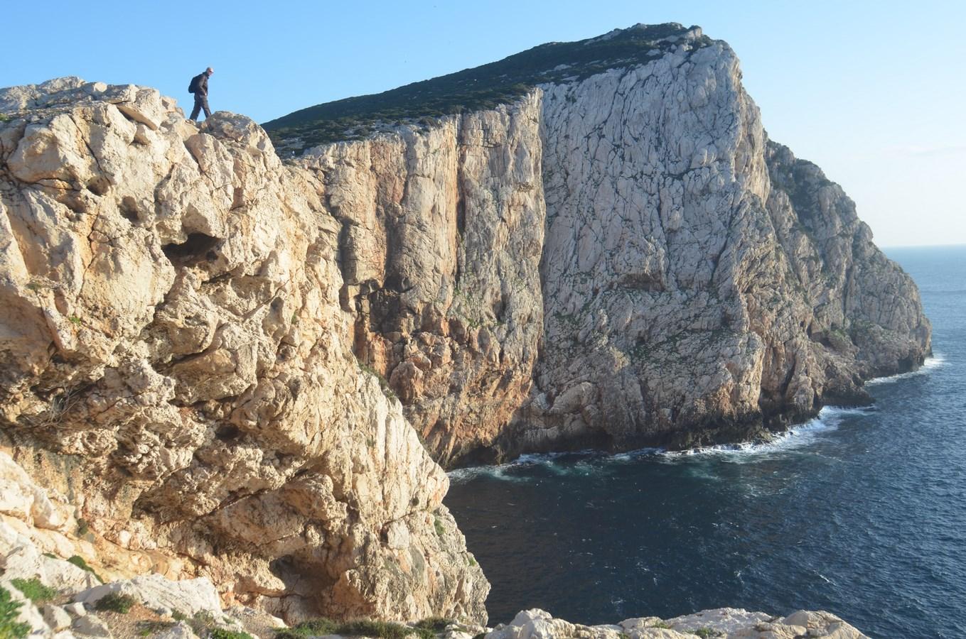 Blick auf Capo Caccia