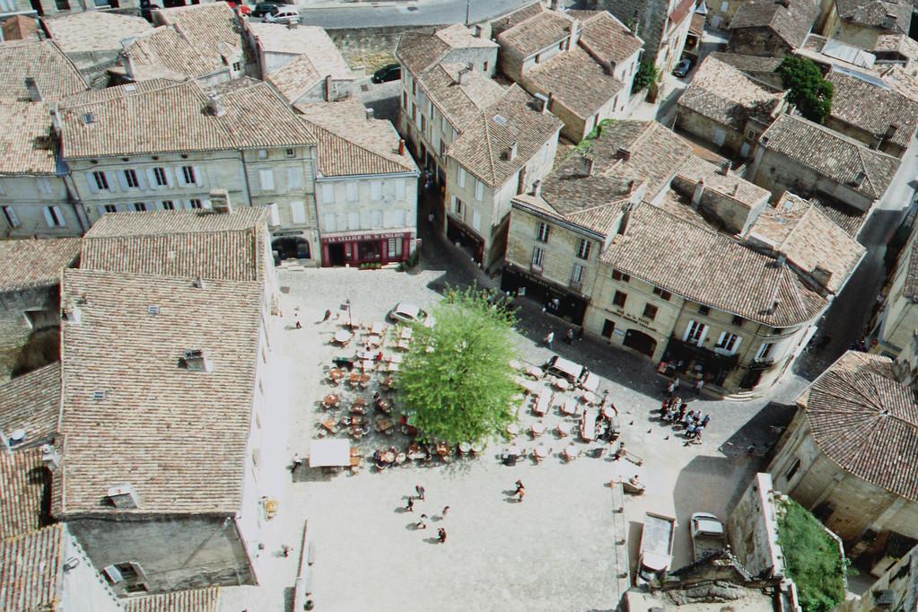 Saint-Emilion, Marktplatz
