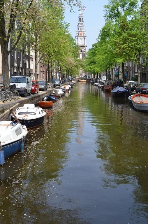 Amsterdam, Blick auf die Oude Kerk