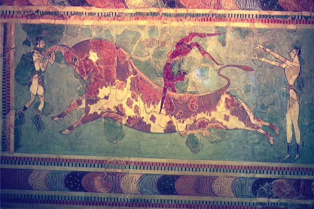 Stiersprungfries (Arch. Museum Heraklion)