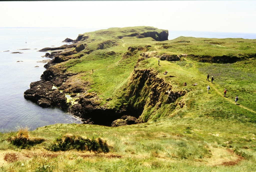 Staffa, Blick auf Südseite
