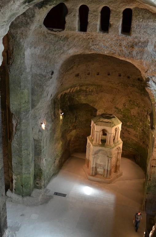 Aubeterre-sur-Dronne, Höhlenkirche Saint-Jean