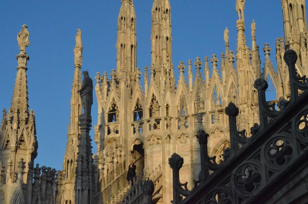 Dom zu Mailand, Blick auf die Fialen
