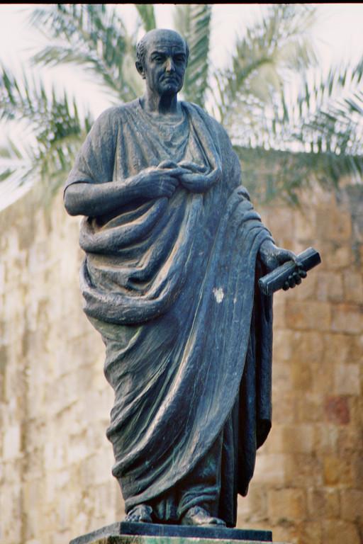 Córdoba, Denkmal für den römischen Philosophen Seneca