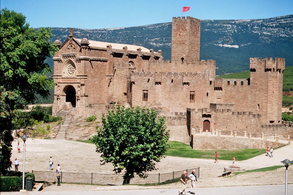 Castillo de Javier, Geburtsort des hl. Francisco de Javier (Franz Xaver)