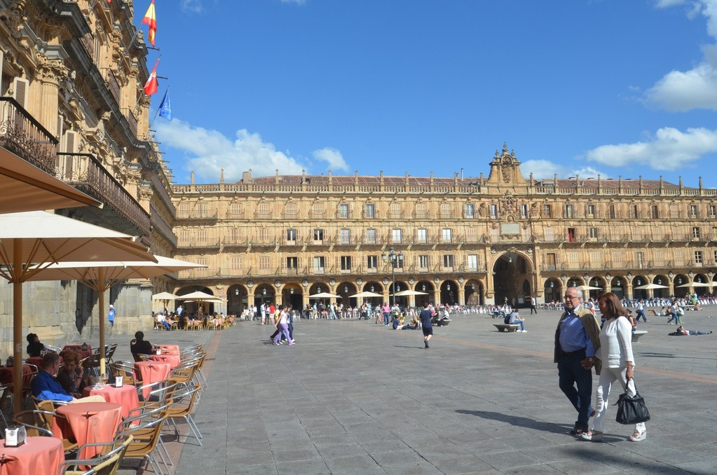 Salamanca, Plaza Mayor (1724-1755)