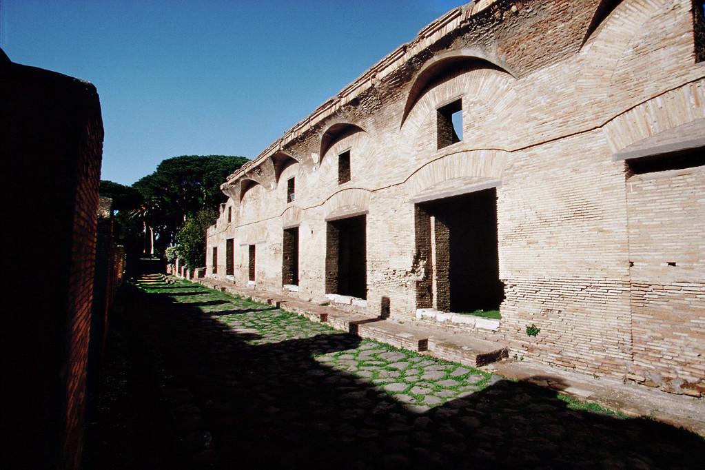 Ostia, Römische Häuser