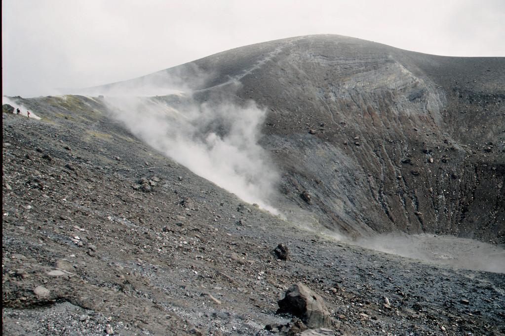 Volcano, Großer Krater