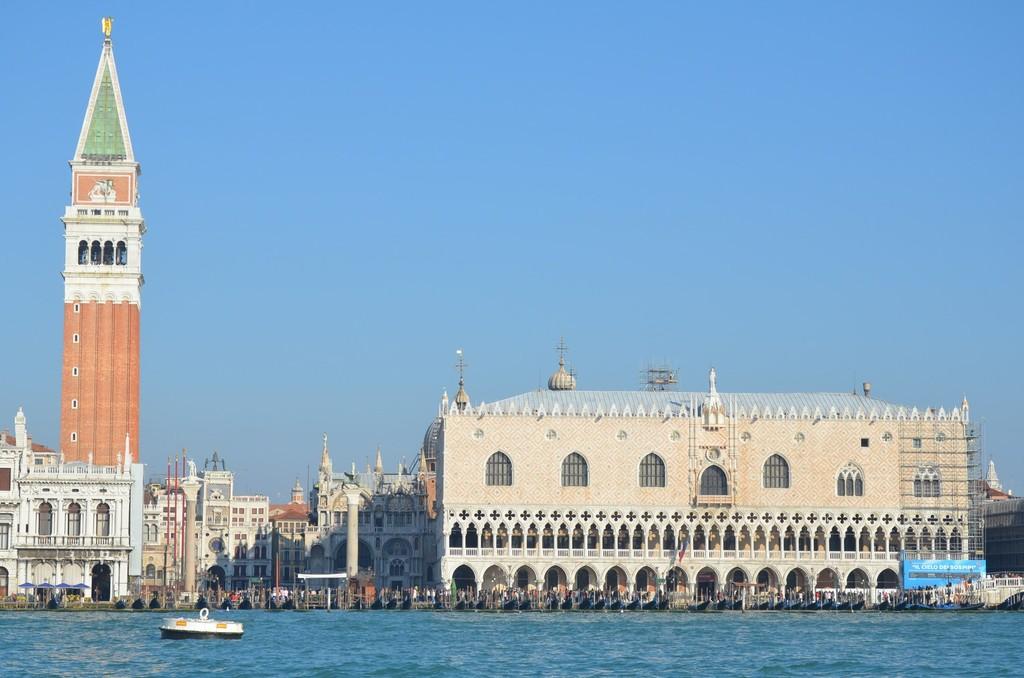 Venedig, Dogenpalast und Uhrenturm