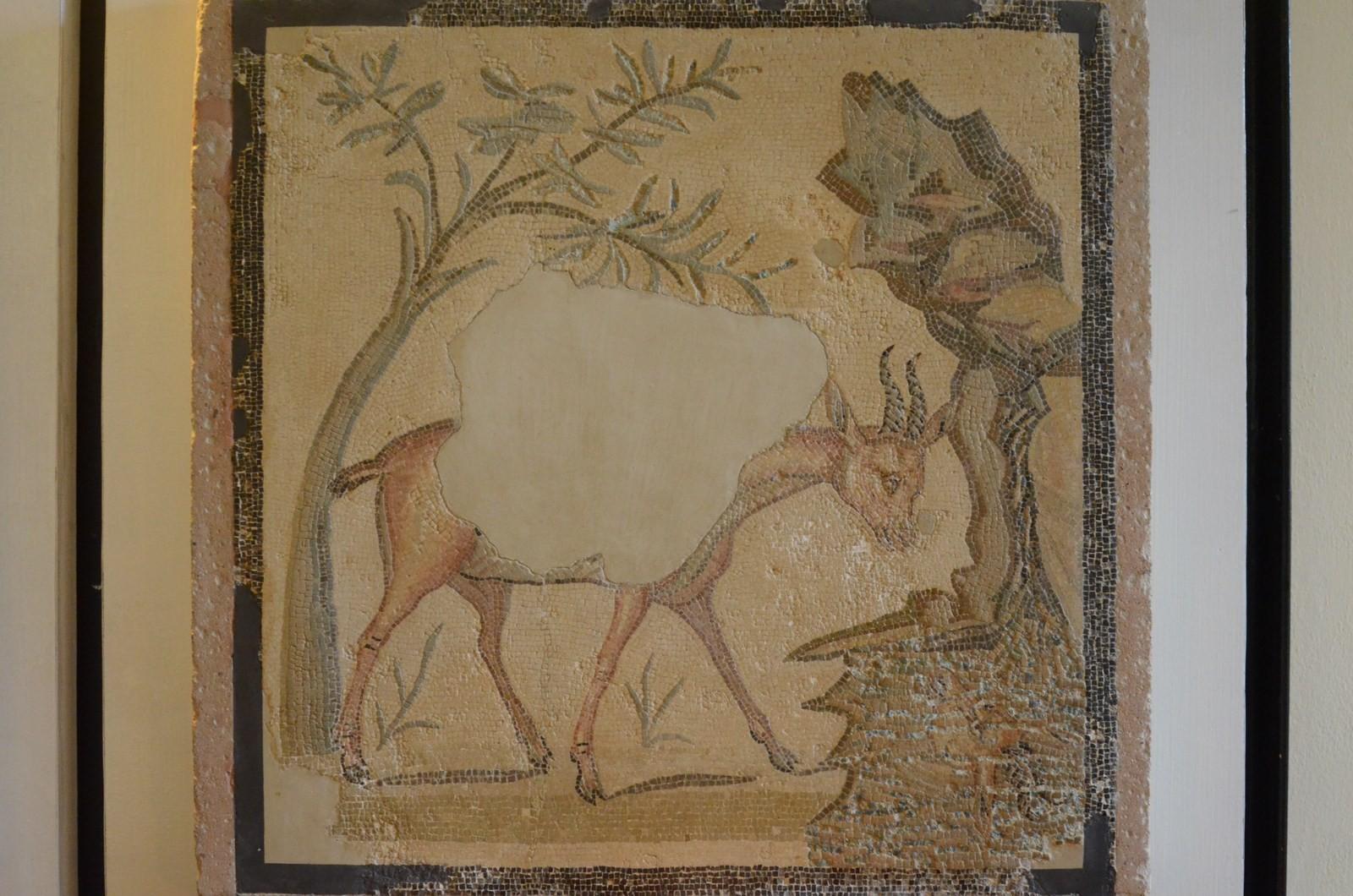 Agrigento, Archäologisches Museum, Mosaik