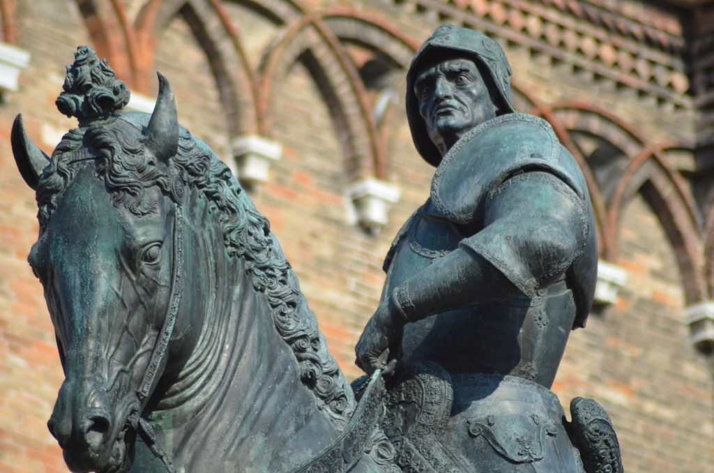 Venedig, Reiterdenkmal für Bartolomeo Colleoni