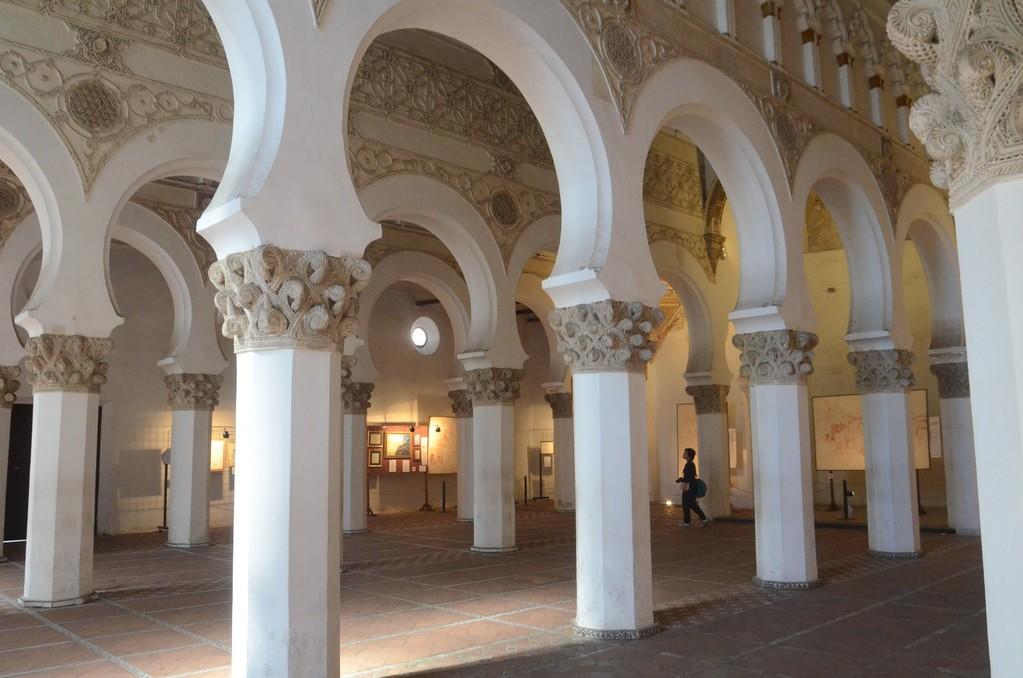 Toledo, Synagoge Santa Maria la Blanca (12. Jh.)