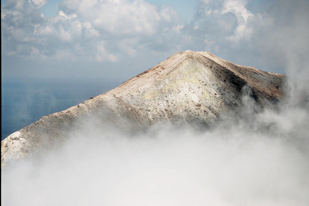 Volcano, Blick auf Gipfel