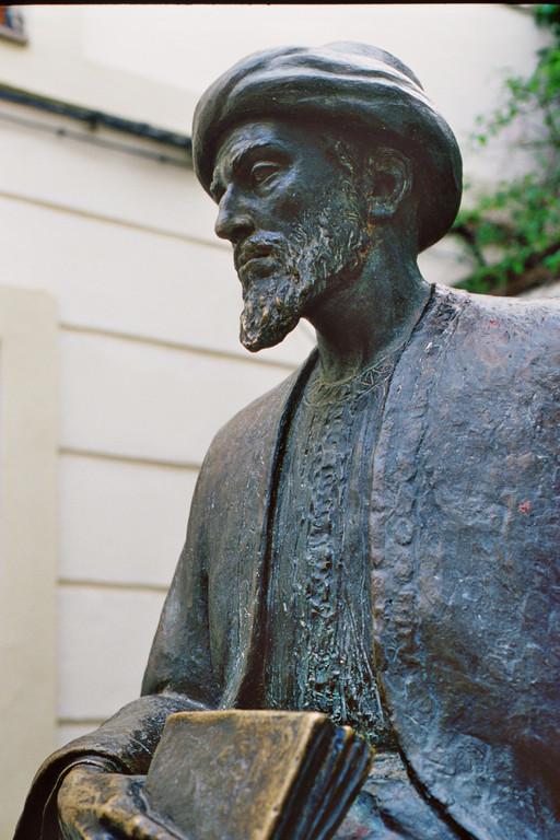 Córdoba, Denkmal für den mittelalterlichen jüdischen Philosophen Maimonides