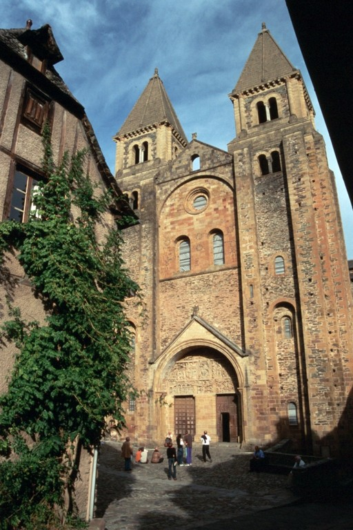 Conques, Sainte-Foy, Westfassade