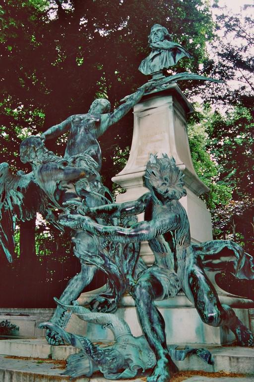 Jardin du Luxembourg, Denkmal für Eugène Delacroix