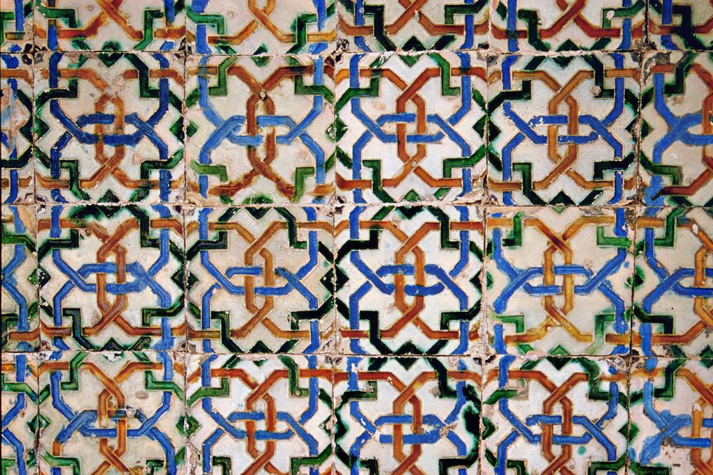 Sevilla, Casa de Pilatos, Islamisches Ornament